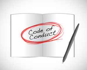 code of conduct book selection