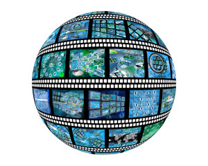 sphere of film
