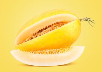 Fresh Yellow Sweet Melon