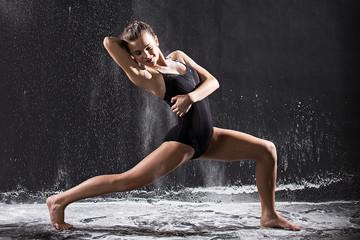 Beautiful teenage dancer