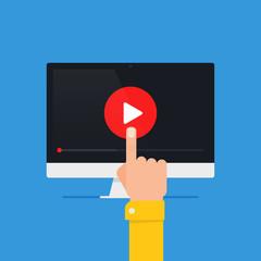 Online video concept