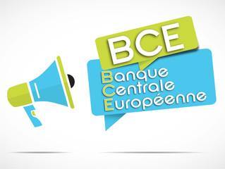 mégaphone : BCE