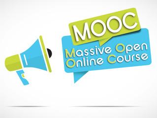 megaphone : MOOC
