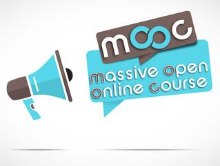 megaphone  : mooc picto