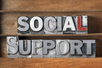 social support tray
