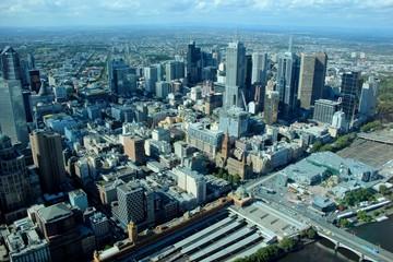 Fototapete - Melbourne, Australie