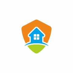 Shield Logo House
