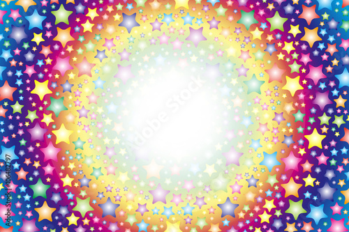 Background Material Wallpaper Rainbow Colors Colorful Pattern Of Stars Stardust