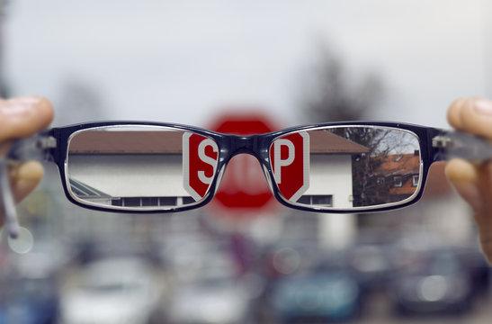 Schärfer sehen mit einer Brille
