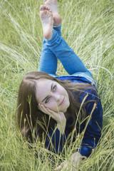 Portrait In The Grass
