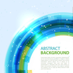 Abstract  background. Round template. Abstract background for business presentations. Vector.