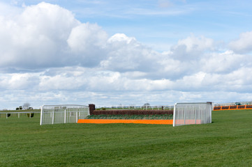Horse Racing Jump Fence