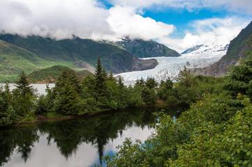 Mendenhall Glacier, Juneau, Alaska, United States