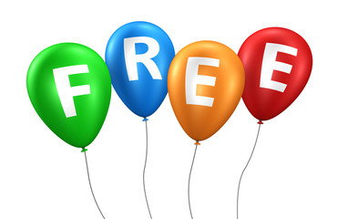 Free Sign Balloons