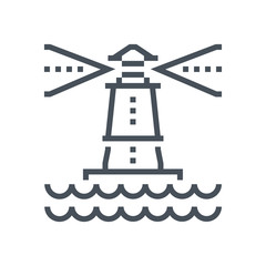 Light house icon