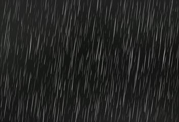 Rain on black. Vector rain texture. Abstract vector background