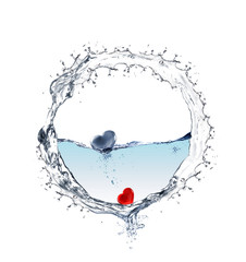 Ring of water
