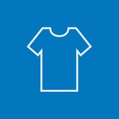 T-shirt line icon.