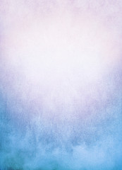 Wall Mural - Blue Pink Fog Background/A background image of fog, mist, and clouds with a colorful blue to pink gradient.  Image has significant texture and grain visible at 100%.