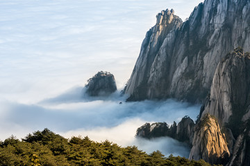 Mt. Huangshan in Anhui, China