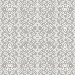 Vintage beautiful background with rich damask ornament