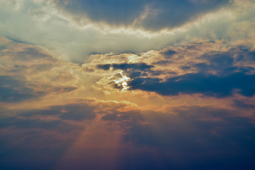 light from the sun