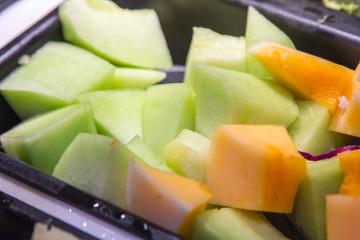 Fresh melon.