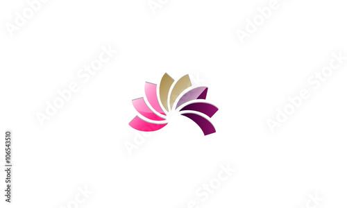 Lotus flower abstract beauty logo stock image and royalty free lotus flower abstract beauty logo mightylinksfo