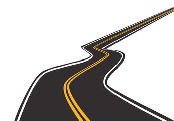 long empty road, speed, transport, travel