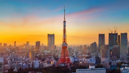 Photo sur Aluminium Tokyo Tokyo Tower