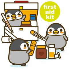 ペンギンカフェ 救急箱
