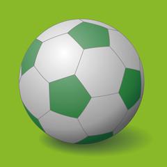 soccer ball, football, vector illustration