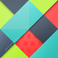 abstract, colorful background with rhombus shapes. vector, geometric, fashion wallpaper template. material design backdrop. origami style, vector, presentation banner layout