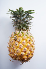 pineapple. fresh pineapple