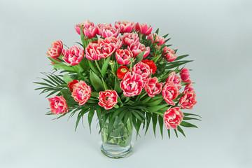 Tulpen und Nelken