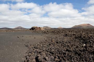 Lanzarote - Timanfaya National Park, the extensive lava fields