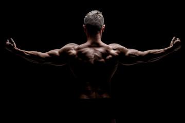 Muscular body Wall mural