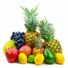Collection juicy fruits