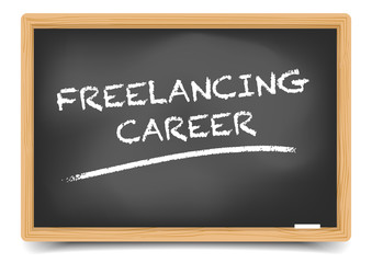 Blackboard Freelancing Career