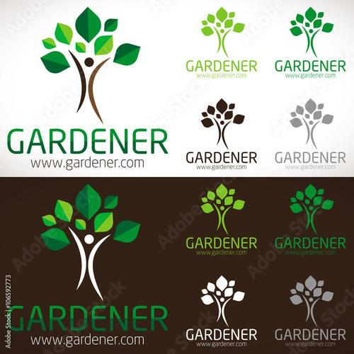 logo gratuit jardinier