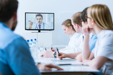 Medical video conference for healthcare