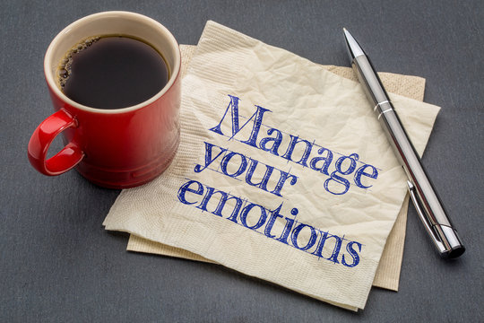 manage your emotions advice