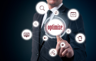 The need to optimize content management. Sustainability and business development