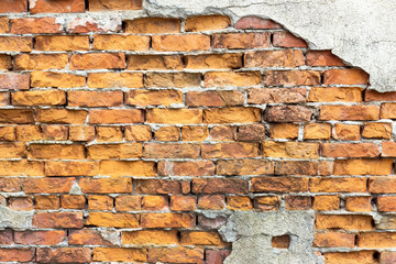 Abstract background with old brick wall.