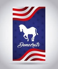 Democrat party design