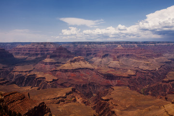 Classic view of Grand Canyon in Arizona, United States of America