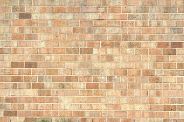 old vintage brick wall texture background