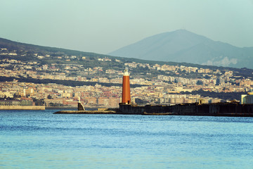 Naples lighthouse