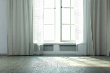 Home white interior