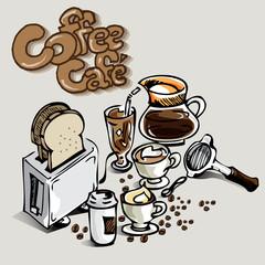 coffee cafe object
